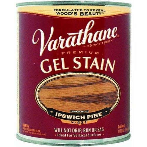 Rust-Oleum Varathane Premium Gel Wood Stain for Vertical and Outdoor Wood Surface (236 ML   Color: Ipswich Pine   Gel-Based)