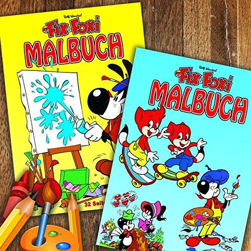 Fix und Foxi Malbuch - 2er Pack