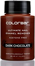 Colorbar Ultimate Nail Enamel Remover, Dark Chocolate, 80ml