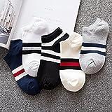 YANXUEPING 5 Paar Socken, Herrensocken, Sommer Baumwolle Socken, dünne Socken, Vier Jahreszeiten Socken, Strümpfe, Großhandel Socken, Sportsocken, Strümpfe, Socken, warme Socken, DREI