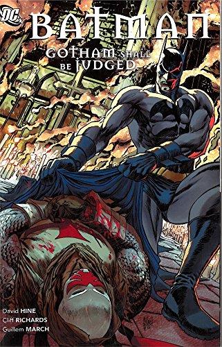 Batman Gotham Shall Be Judged TP by Fabian Nicieza (6-Apr-2012) Paperback