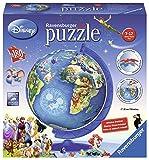 Ravensburger Italy 12333 - Puzzle 3D Mappamondo Disney