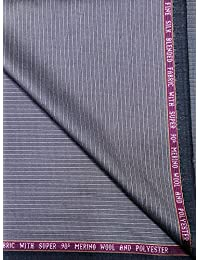 Raymond Super 90's ( 50%) Merino Wool With Fine Silk Blended Unstitched Suit Fabric