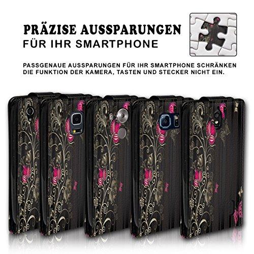 Vertical Flip Style Housse Case Étui Coque Motif cartes étui support pour Apple iPhone 5/5S–Variante ver34 Design 4