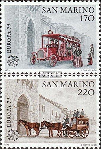 Prophila Collection San Marino 1172-1173 (kompl.Ausg.) 1979 Post- und Fernmeldewesen (Briefmarken für Sammler) Pferde