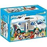 Playmobil- Summer Camper Vacaciones Caravana de Verano, Color (6671)
