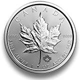 Silbermünze Maple Leaf - 2017 - einzeln in Münzkapsel verpackt - 1 Unze Silber - Neu und prägefrisch