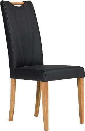 2x Stuhl Spaltleder beige Esszimmerstuhl Stühle Polsterstuhl NEU PENNSYLVANIA
