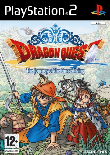 IMPORT ANGLAISDRAGON QUEST THE JOURNEY OF THE CURSED KING GAME PS2