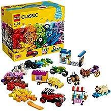 LEGO Classic Lego Ladrillos sobre ruedas, (10715)