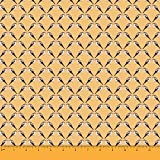 Soimoi Orange Viskose Chiffon Stoff flowerpecker Vogel