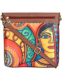 All Things Sundar Womens Sling Bag / Cross Body Bag - S03 - 01