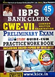 Kiran's IBPS Bank Clerk CWE – VII Preliminary Exam Self Study Guide Cum Practice Work Book with CD - 1886