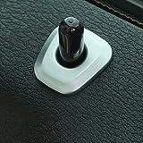 4pcs/lot en ABS chromé mat Accessoires Verrou de porte Bague Coque Garniture pour BMW X1F4820162017Car Styling
