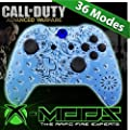 Blue Paisley Modded Xbox One Controller