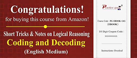 Practice Guru Short Tricks and Notes on Logical Reasoning - Coding and Decoding (CD)