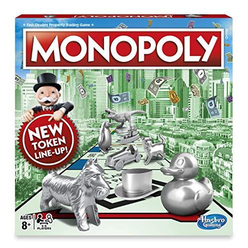 Hasbro klassisches Brettspiel Monopoly (evtl. Nicht in Deutscher Sprache)