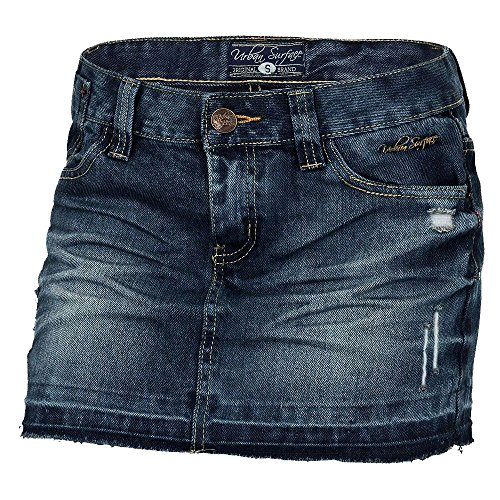 Urban Surface Damen Jeansrock D8707E52650AI37LE LUS-034 dark blue denim S