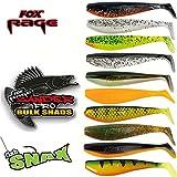 Fox Rage Zander Shad Einführungsset mit allen Farben 10 Gummifische