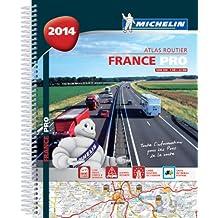 Atlas Routier France 2014 Michelin Pros de la route