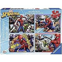 Ravensburger Puzzle 4x 100pieces Bumper Pack, Spiderman (6914)