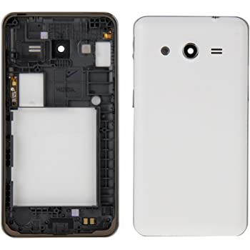 TOTTA Replacement Housing Back Body panel for Samsung Galaxy Core 2 SM-G355 - White
