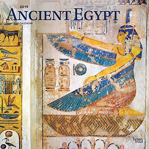 Ancient Egypt - Das Alte Ägypten 2019 - 18-Monatskalender: Original BrownTrout-Kalender [Mehrsprachig] [Kalender] por Inc Browntrout Publishers
