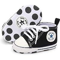 Babycute Chaussures de Toile pour bébé Baskets Occasionnelles à Semelle Souple Bébés garçons de Filles Chaussures First…
