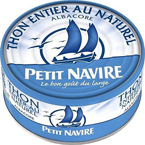 Petit Navire thon naturel 1/3 185g - ( Prix Unitaire ) - Envoi Rapide Et Soignée