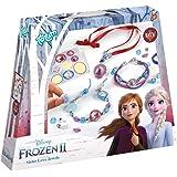Frozen II 680661 II Schwesternschmuck Bastel-Set: Bastle Deine eigenen Prinzessinnen-Armbänder mit schönen Perlen, Anhängern