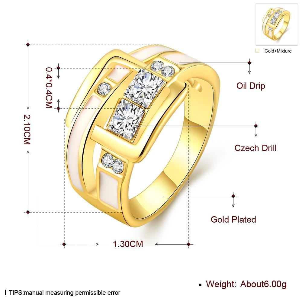 Anello Di Diamanti Classico Popolare Classico , oro , 8
