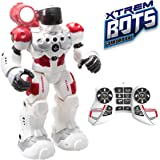 Guardian BOT (Xtrem Bots) Juguete Robot para niños de Inteligencia Artificial. Alarma Anti-Intrusos Robot Control Remoto de J