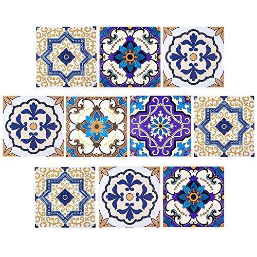 Comius Autoadhesivo Azulejos Decorativos en Vinilo
