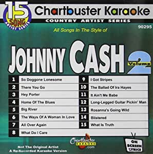 Karaoke Hits of Johnny Cash 2