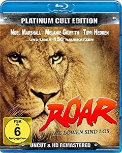 Roar... Das wilde Abenteuer - plus Soundtrack auf Carbon-CD (Platinum Cult Edition) [Blu-ray + Audio-CD]