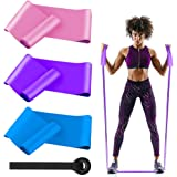 Namgiy Widerstandsb/änder Fitnessb/änder Naturlatex Trainings-B/änder Resistance-Bands f/ür Physiotherapie Pilates Yoga Gymnastik
