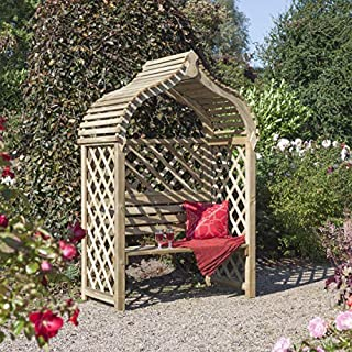 Jaipur Arbour Pressure Treated Wooden Double Seat