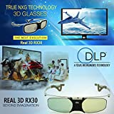 #3: High Quality RX30s 3D Rechargeable Active Shutter 3D DLP glasses for all DLP Link projectors
