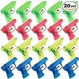 THE TWIDDLERS 20 pistole ad acqua in 4 colori assortiti. Ideali come regalini per le feste di bambini o da portare a mare