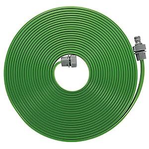 GARDENA Schlauch-Regner: Feiner Sprühregner für die Bewässerung länglicher, schmaler Zonen, Länge 15 m, anschlussfertig ausgestattet, grün, individuell verkürz- oder verlängerbar (1998-20)