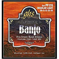 GHS PF 170 Banjo RL Acero Inoxidable 5-cuerdas (lazo)