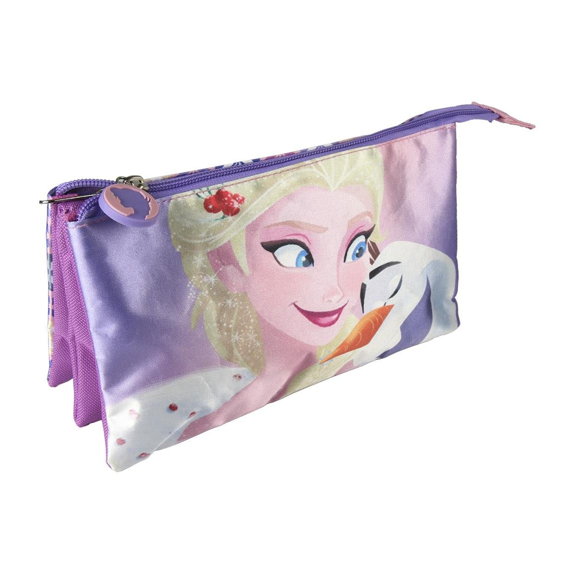 Disney Frozen-CD-21-2150 Frozen Estuches portatodo y portaflautas, Multicolor, 22 cm (ARTESANIA CERDA CD-21-2150)