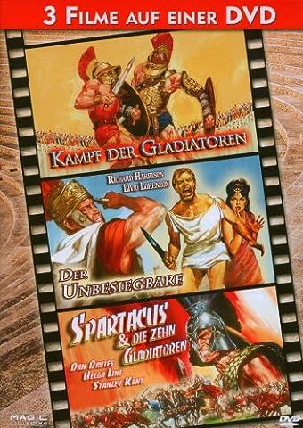 Kampf der Gladiatoren / Der Unbesiegbare / Spartacus