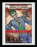 DC Comics Batman Comic Circus Joker Framed Photograph, 16 x 12 inch