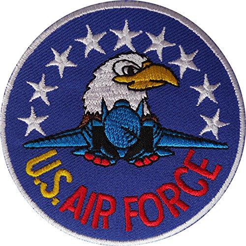 United States Air Force Patch Bestickt Abzeichen Eisen nähen auf Stickerei Applikation (Raf Pilot Kostüm)