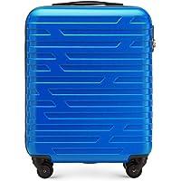 Chariot à Bagages à Main de WITTCHEN adapté aux compagnies aériennes ABS 54 x 39 x 23 cm 2.8 kg 38 L Bleu | Les Bagages…
