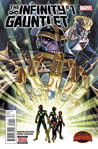 Infinity Gauntlet #1 Comic Book by Marvel Comics Dc Gauntlet