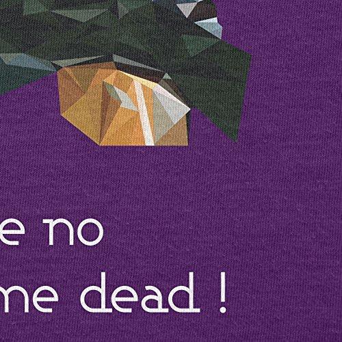 NERDO - Poly Boba - Herren T-Shirt Violett