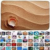 Sanilo Badteppich, viele schöne Badteppiche zur Auswahl, hochwertige Qualität, sehr weich, schnelltrocknend, waschbar (50 x 80 cm, Clam)