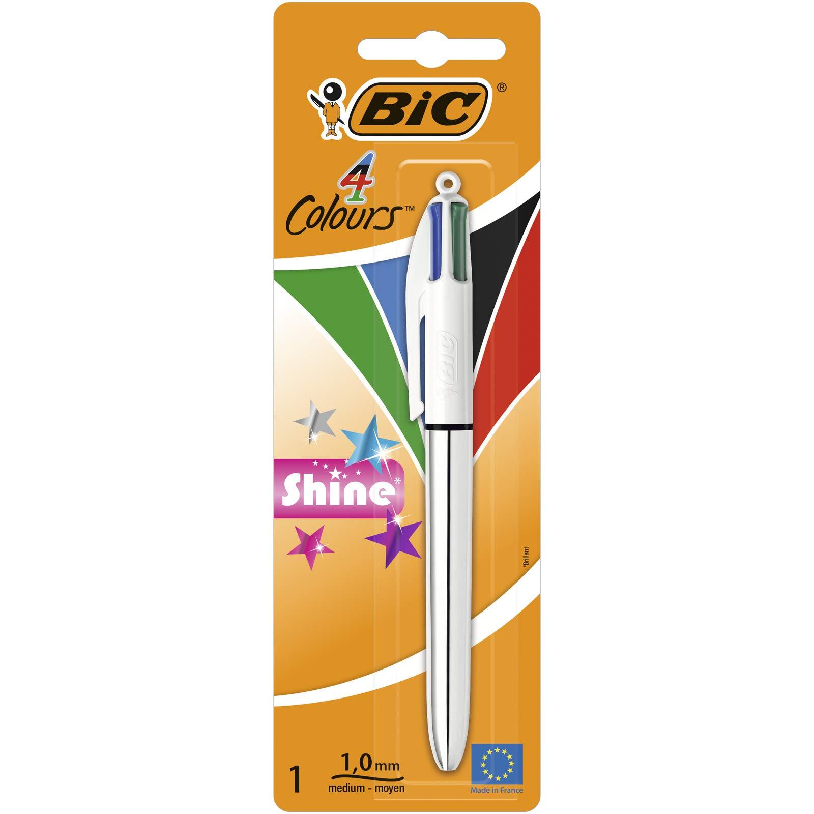 BIC Colores Shine – Caja de bolígrafos